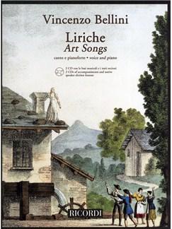 Vincenzo Bellini: Liriche - Art Songs (Voice and Piano) Books and CDs   Voice, Piano Accompaniment