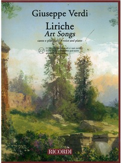 Giuseppe Verdi: Liriche - Art Songs (Voice and Piano) CD et Livre | Voix, Accompagnement Piano