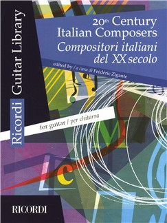 20th Century Italian Composers (Guitar) Books | Classical Guitar