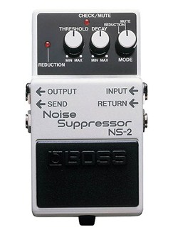 Boss: NS-2 Noise Suppressor Guitar Pedal  | Electric Guitar