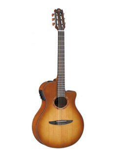 Yamaha: NTX700SB Electro-Acoustic Guitar - Sand Burst Instruments | Electro-Acoustic Guitar, Classical Guitar(Electric)