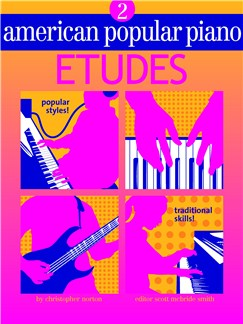 American Popular Piano: Etudes - Level 2 Books |