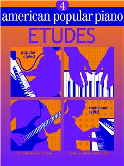 American Popular Piano: Etudes - Level 4 Books |