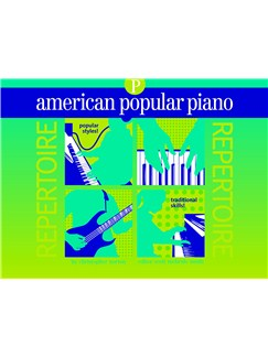 American Popular Piano: Repertoire - Preparatory Level Books and CDs  