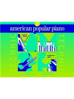 American Popular Piano: Technic - Preparatory Level Books |
