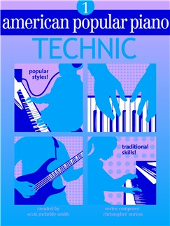 American Popular Piano: Technic - Level 1 Books |