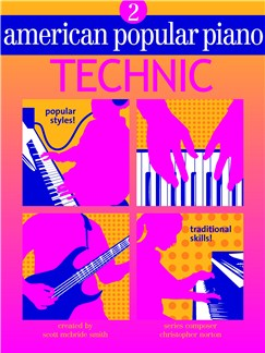 American Popular Piano: Technic - Level 2 Books |