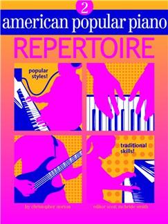 American Popular Piano: Repertoire - Level 2 Books and CDs |