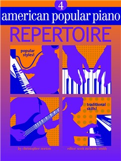 American Popular Piano: Repertoire - Level 4 Books and CDs |