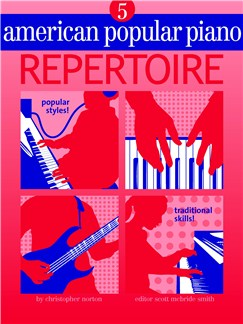 American Popular Piano: Repertoire - Level 5 Books and CDs |
