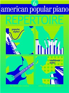 American Popular Piano: Repertoire - Level 6 Books and CDs |