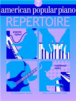 American Popular Piano: Repertoire - Level 7 Books and CDs |
