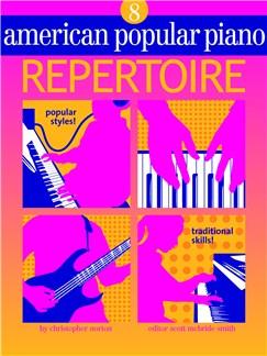 American Popular Piano: Repertoire - Level 8 Books and CDs |