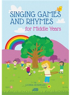 Lucinda Geoghegan: Singing Games And Rhymes For Middle Years Bog og CD | Stemme