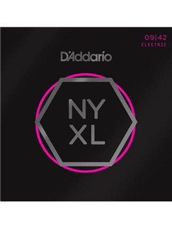D'Addario NYXL Electric Guitar Strings: Super Light 09-42  | Electric Guitar
