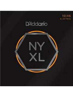 D'Addario: NYXL1046 Nickel Wound Electric Guitar Strings, Regular Light, 10-46  |