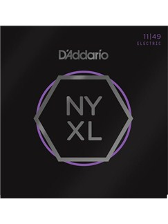 D'Addario: NYXL1149 Nickel Wound Electric Guitar Strings, Medium, 11-49  | Electric Guitar