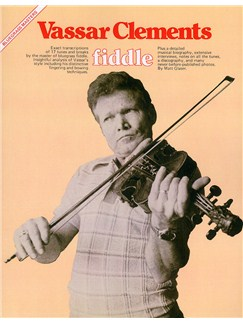 Bluegrass Masters: Vassar Clements (Fiddle) Books | Violin
