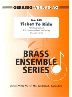 The Beatles: Ticket To Ride (Brass Quintet) Books | Brass Quintet
