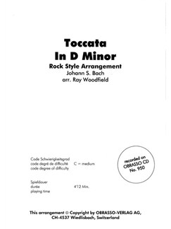 J.S. Bach: Toccata In D Minor: Rock Arrangement Books | Brass Band