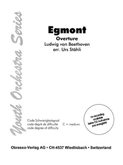 Ludwig Van Beethoven: Egmont - Overture Books | Orchestra