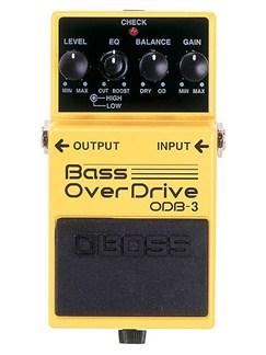 Boss: ODB-3 Bass OverDrive Pedal  | Bass Guitar
