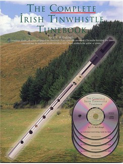 The Complete Irish Tinwhistle Tunebook Books and CDs | Pennywhistle