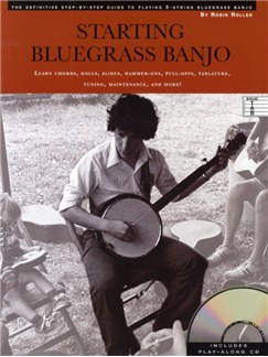 Robin Roller: Starting Bluegrass Banjo Books and CDs | Banjo