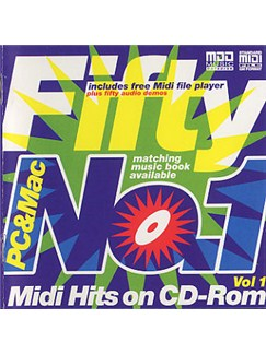 Fifty No.1 MIDI Hits Volume 1 (CD-Rom) CD-Roms / DVD-Roms |