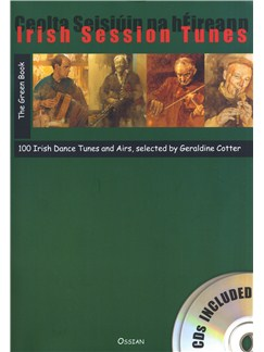 Irish Session Tunes: The Green Book (Book/2CDs) Books and CDs | All Instruments, Pennywhistle, Flute, Bagpipes