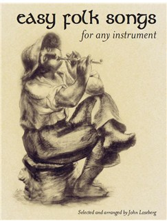 Easy Folk Songs For Any Instrument Books | All Instruments