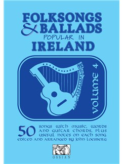 Folksongs & Ballads Popular In Ireland - Volume Four Books | Melody Line, Lyrics & Chords
