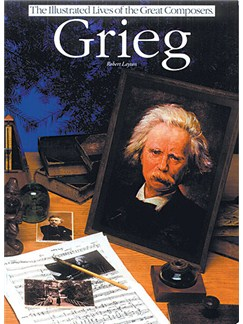 Grieg: Illustrated Lives Of The Great Composers Books |