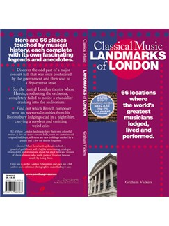 Classical Music Landmarks Of London Books  