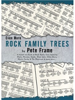 Pete Frame: Even More Rock Family Trees Books |