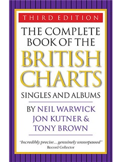 The Complete Book Of The British Charts (Third Edition) Books |