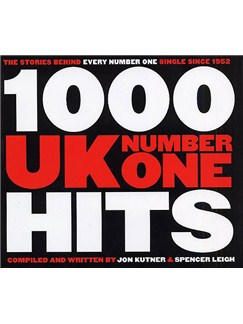 1000 UK Number One Hits Books |