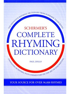 Schirmer's Complete Rhyming Dictionary Books |