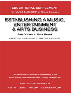 Establishing a Music, Entertainment and Arts Business Buch |