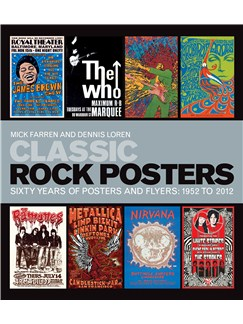 Classic Rock Posters - Sixty Years Of Posters And Flyers: 1952 To 2012 Books |