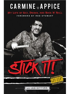 Carmine Appice: Stick It! My Life Of Sex, Drums, And Rock 'N' Roll Buch |