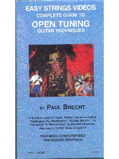 Complete Guide To Open Tuning Guitar Techniques DVDs / Videos   Guitar