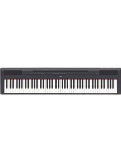 Yamaha: P-115B Digital Piano (Black) Instruments | Digital Piano