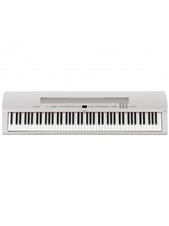 Yamaha P255B 88-Key Digital Piano: White Instruments | Digital Piano