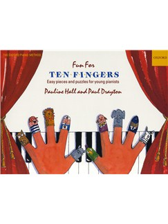 Fun For Ten Fingers: Easy Pieces And Puzzles Books | Piano