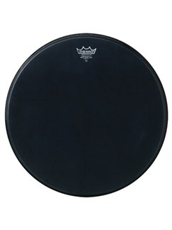 Remo: Powerstroke 3 Black Suede Bass Drum Head - 24"