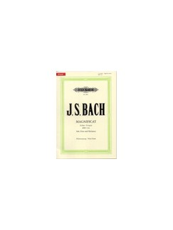 JS Bach: Magnificat D BWV 243 (Latin) Urtext Books | SATB