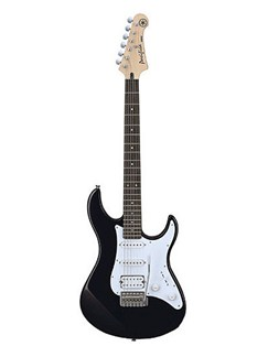 Yamaha: Pacifica 112V Electric Guitar - Black Instruments | Electric Guitar