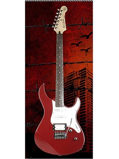 Yamaha: Pacifica 112V Electric Guitar - Red Metallic Instruments | Electric Guitar