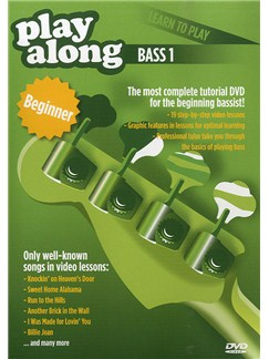 Play Along: Learn To Play - Bass 1 DVDs / Videos | Bass Guitar